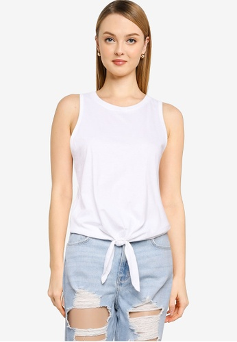 Hollister white Easy Tie Front Bare Top 10551AA5FAFDBFGS_1