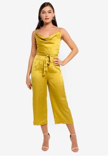 CHI CHI LONDON yellow Yana Jumpsuit E1519AA3BE0ED2GS_1