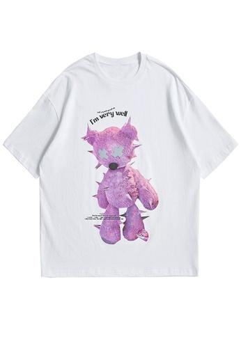 Twenty Eight Shoes Reflective Printed Short T-shirt 1650S21 AD0EEAA544A964GS_1