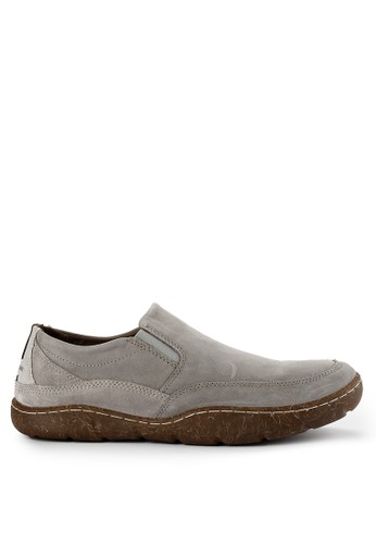 Hush Puppies grey Sway Slipon 6E18ESHDD6C332GS_1