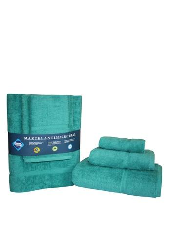Martel green Martel Sanitized Towel Set 6D707HLB6827BDGS_1