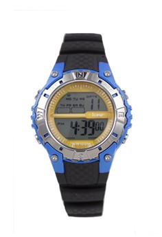 iGear I43-1988 Jam Tangan Digital Wanita Blue Yellow