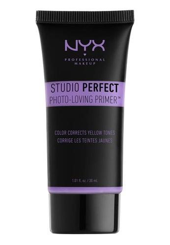 NYX Professional MakeUp purple NYX PROFESSIONAL MAKEUP Studio Perfect Primer - Lavender E143BBE6CABD49GS_1