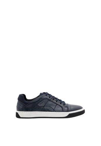 SEMBONIA blue SEMBONIA Men Microfiber Sneaker (Blue) F9883SHFB7D8B9GS_1