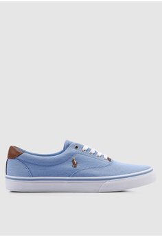 7df87746ae0 Polo Ralph Lauren blue Thorton Sneakers 379A6SH85B6A03GS 1