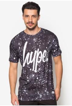 Script Speckle T-Shirt