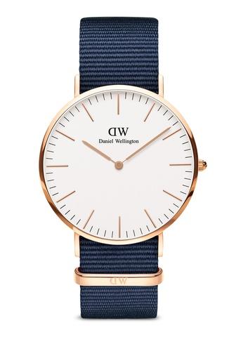 Daniel Wellington gold Classic Bayswater 40mm Rose Gold Watch 9BC39AC080084FGS_1