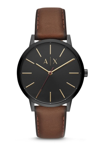 82bfed54243 Buy Armani Exchange Cayde Three Hand Watch AX2706 Online on ZALORA Singapore