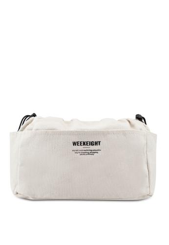 Bagstationz beige Canvas Bag In Bag Organizer 684EAACFB6229AGS_1