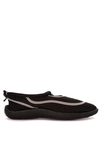 Reva black Morphling Sandals & Flip Flops 1A446SHB3D9D3DGS_1