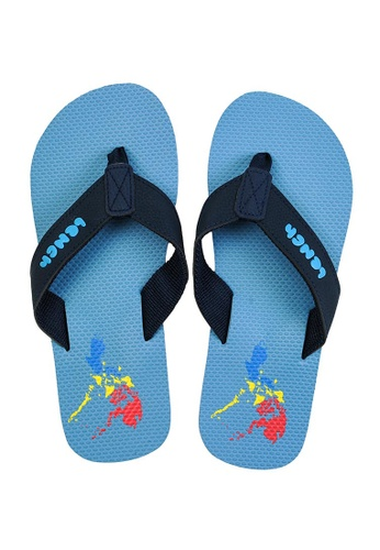 BENCH blue Rubber Slippers BE550SH0JXPRPH_1