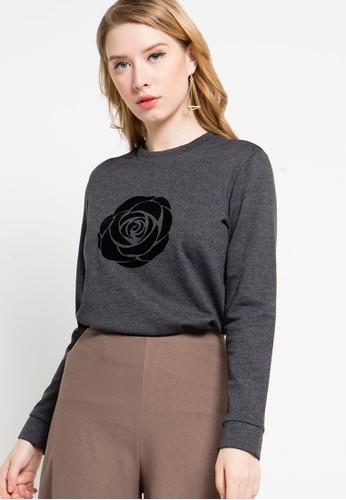 EDITION Rose Sweatshirt