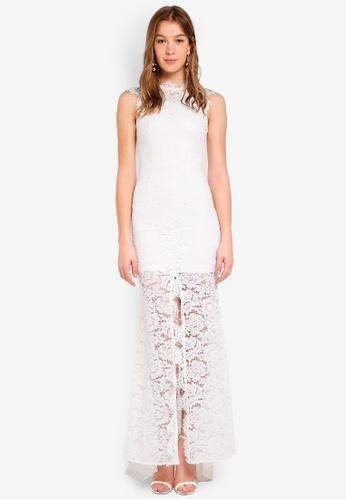 JARLO LONDON white Vienna Dress 80140AAF191685GS_1