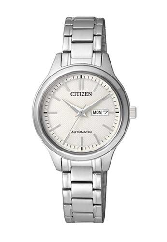 CITIZEN silver Citizen Silver Stainless Steel Watch 94473AC3A5A9E8GS_1