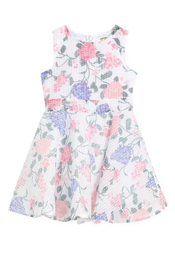 KOTON pink Floral Dress C0AF3KAEB2F51FGS_1