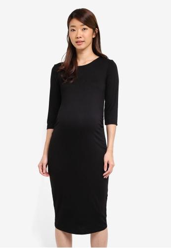 Dorothy Perkins black Maternity Bodycon Dress Black 50902AA34BCB80GS_1