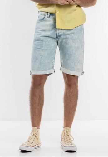 Levi's blue Levi's 501® Original Fit Cut‑off Shorts 82A01AA59A3583GS_1