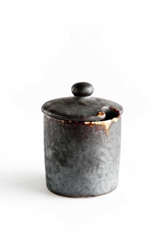 KRA Sanctuary grey Charcoal Grill Seasoning Jar A2A81HL816A0DDGS_1