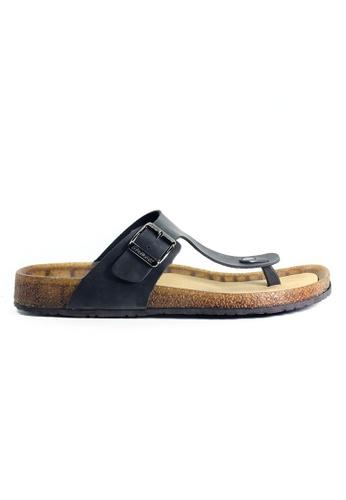 G-wingx black G-Wingx Men Sandal 6B49ESHAEFD265GS_1