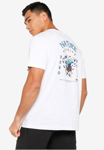 361° white Cross Training Short Sleeve T-Shirt E84C2AA9EB4B4FGS_1