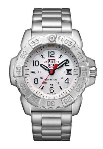 Luminox silver Luminox Navy Seal Steel Silver Stainless Steel Watch B567FACAB08E67GS_1