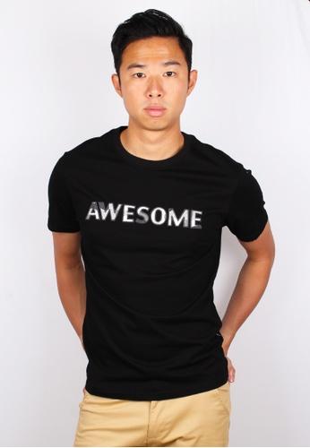 Moley black AWESOME Modern Camo Embroidery T-Shirt 9ED7CAA56F570CGS_1