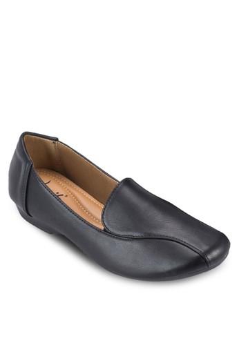 經典素色樂福鞋, esprit hong kong女鞋, 鞋