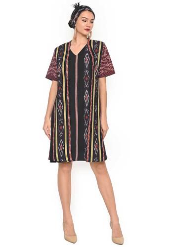 Rinjanie Avon multi Rinjanie Avon - Dress Tenun - Dress Maya F67A8AA6EF5F24GS_1