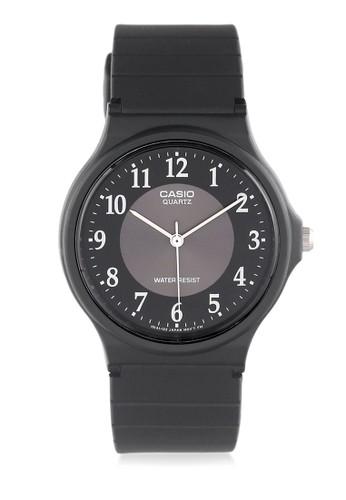 Casio black Casio Jam Tangan Pria - Black - Resin - MQ-24-1B3LDF 7A62DAC1EEAF78GS_1