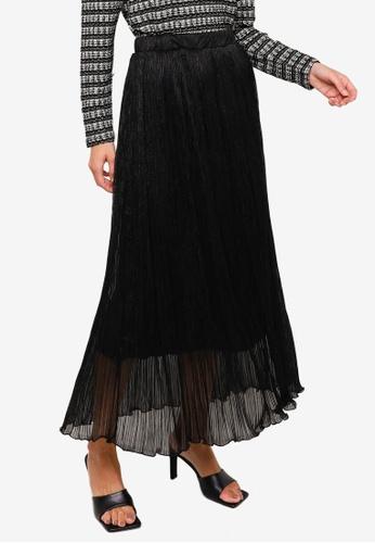 Vero Moda black Polaris High Waist Skirt 64095AA4A7863EGS_1