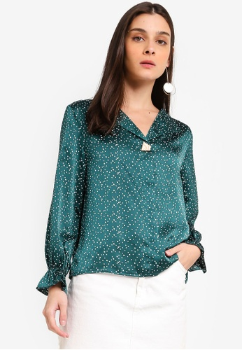 1f46a27d6a9 Buy ZALORA Open Collar Top Online on ZALORA Singapore