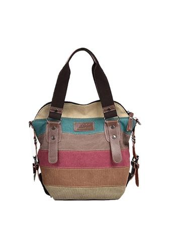 Twenty Eight Shoes multi VANSA Colorful Canvas Tote Bag VBW-Tb11961S C6317AC305D9E9GS_1