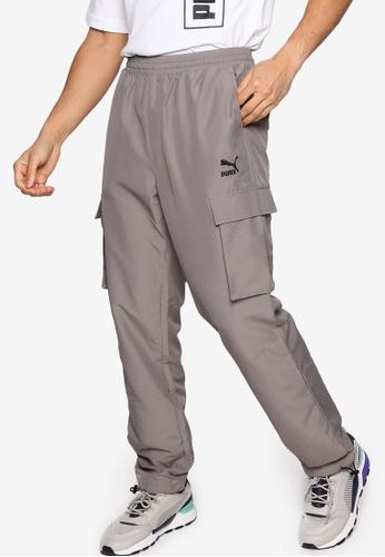 PUMA 灰色 Sportstyle Prime Classics Cargo Pants 3211CAA773B305GS_1