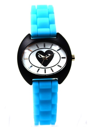 World of Watches blue Play Jill Silicon Strap Watch 3028L WO566AC31DYUPH_1