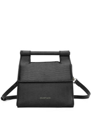 Milliot & Co. 黑色 Alex Top Handle Bag 3D5ACAC62AA399GS_1