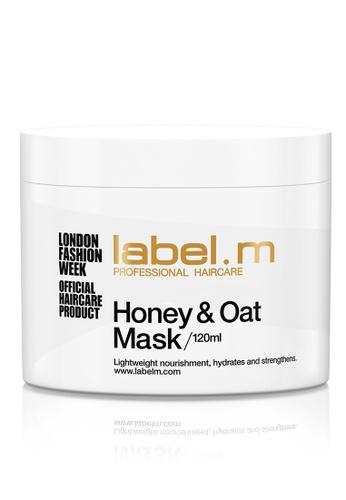 label.m white label.m Honey & Oat Treatment Mask 120ml 3B94DBED08408EGS_1