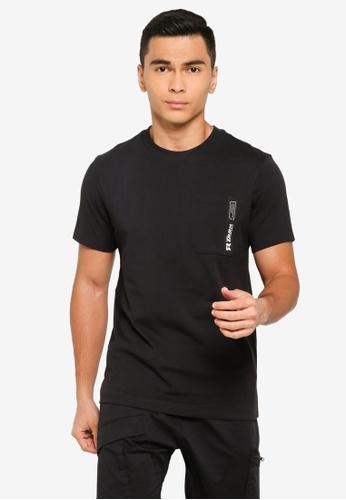 361° black Sports Life Short Sleeve T-Shirt 13E9FAA8C82B8CGS_1
