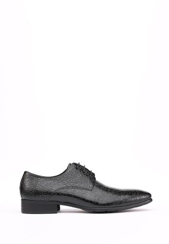 Kings Collection 黑色 梅里特 皮鞋 4FF5ASH19291C7GS_1