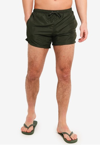 Brave Soul green Swimshort With Elasticated Waistband 836C7AA5D2DB8DGS_1