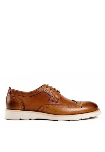 Twenty Eight Shoes brown Port Vintage Leathers Brogues BL855-1 35F2DSH69CC313GS_1