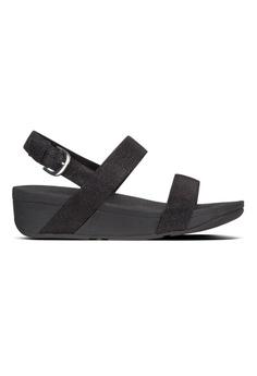 f7506e69fe4 Fitflop black Fitflop Lottie Glitzy Sandal (Black) B3C82SH4FC2375GS 1