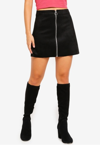 f1b776d85 Shop ONLY New Ea Faux Suede Bonded Skirt Online on ZALORA Philippines