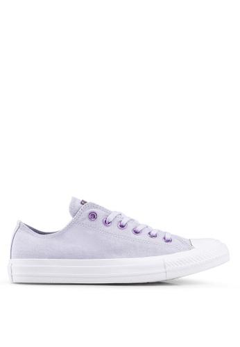 6567314c3b53 Converse purple Chuck Taylor All Star Hearts Ox Sneakers D22C9SH2B671C0GS 1