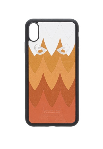 POROLUXE brown PHONE CASE FOR IPHONE XS MAX C6640AC7DD52C8GS_1