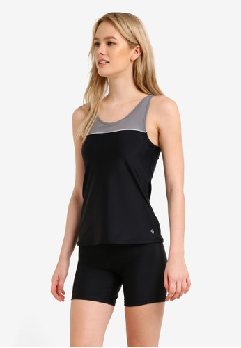 Funfit black Basic Tankini Set FU839US0RMWDMY_1