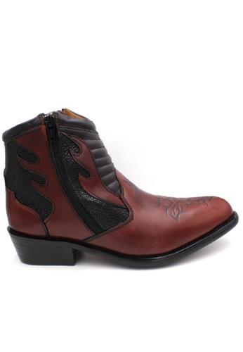 midzone brown EAGLE HUNTER Handmade Genuine Leather Boots 34D4ESHD4E4A5EGS_1