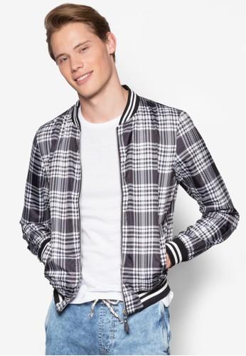 Bomber Leggero Stampato Jacket, 服飾,esprit 京站 外套