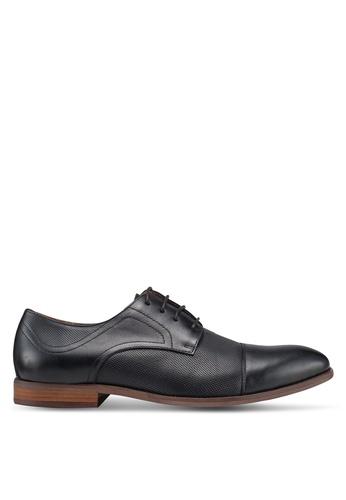 Carlton London black Lace Up Dress Shoes 5A6FBSHA2EE11DGS_1