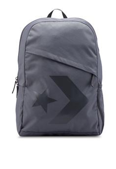 Converse grey Converse All Star Chevron Speed Backpack F786BACB1C5671GS 1 5abebe54bd400