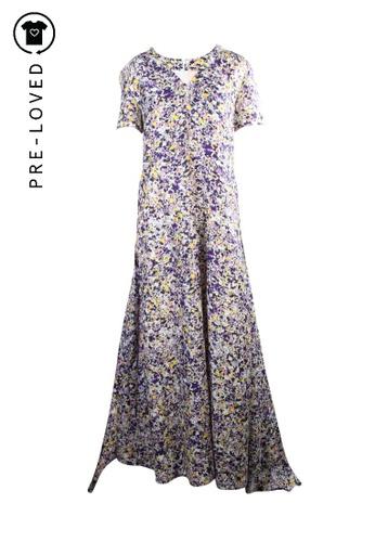 Roksanda Ilincic multi Pre-Loved roksanda ilincic Floral Multicolour Print Dress C6D63AAE71B42FGS_1